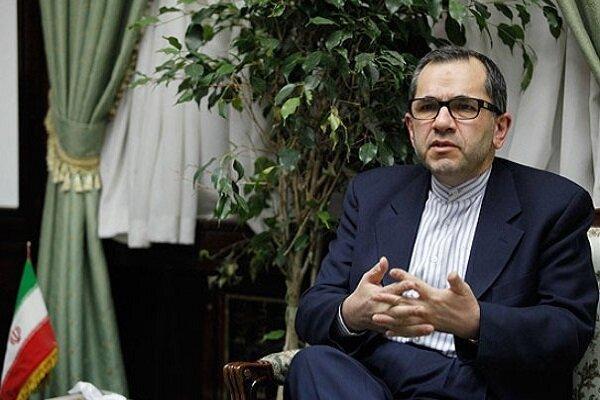 اتهام دخالت ایران درحمله به پایگاه های آمریکا درعراق را رد می کنم