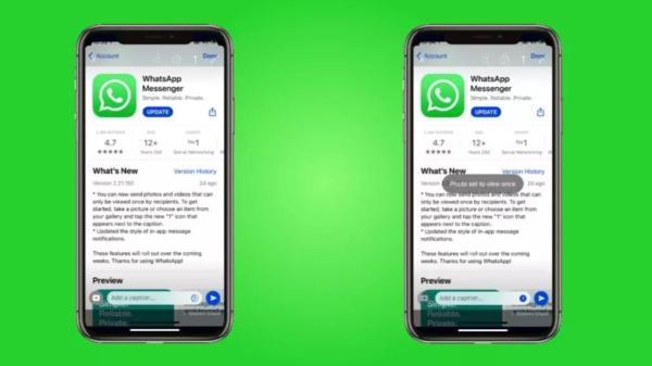 چگونه عکس ها و ویدئو ها را در واتساپ ناپدید کنیم؟
